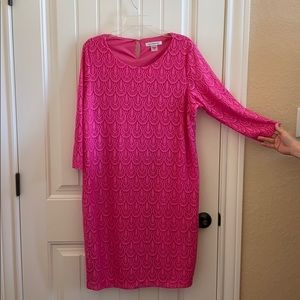 Allison Daley Pink lined dress